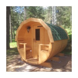 Sauna nórdica 195x300 en Avet