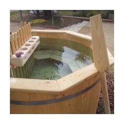 Bañera nórdica D160 de madera de Alarce