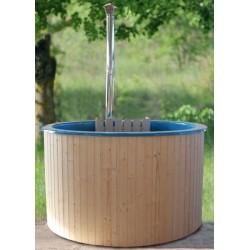 Bañera nórdica int d fibra D180 de madera de Alarce